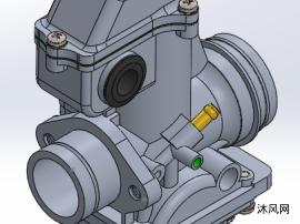 化油器模型图设计