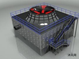 冷却塔制作模型
