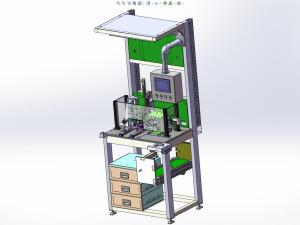 真空泵检测设备(solidworks)