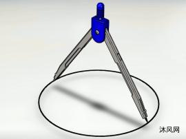 圆规sw设计模型