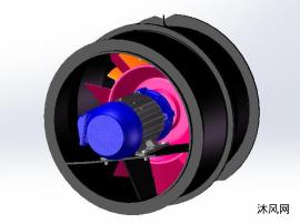 涡轮风扇模型设计图