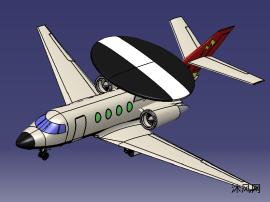 预警机模型设计