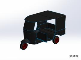 運輸三輪車模型