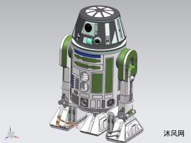 R6C9型星球大战机器人模型