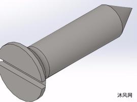 开槽沉头自攻螺钉-C型模型汇总共110个模型GB/T 5283-1985