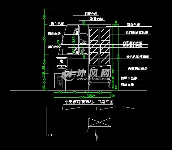 荆园复式雅户型装修设计cad整套施工图