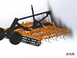 sw農用中耕機模型