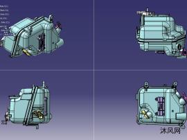 汽车水箱乐虎国际娱乐设计模型