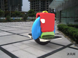免充气自发电独轮平衡车
