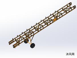 移动车架模型设计