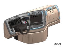卡车仪表板-福莱纳卡斯卡迪亚仪表板-cascadia dashboard
