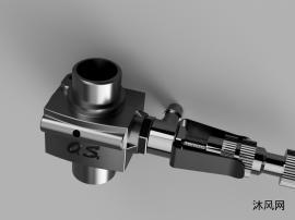 化油器模型图纸设计