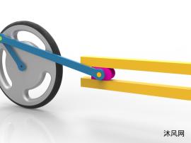 曲柄连杆机构教学模型