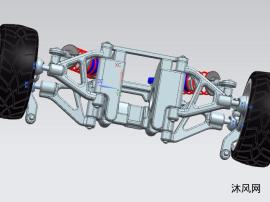 悬浮车架模型