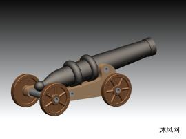 改进版土炮模型
