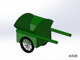 运输垃圾车设计