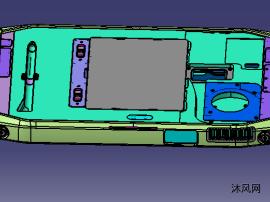 PWS-870 10寸坚固型工业平板电脑设计模型