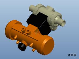 進口的小氣泵設計圖