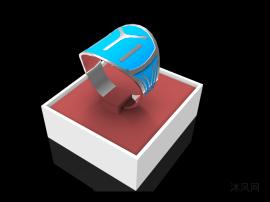 加大戒指模型