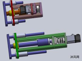 电缸  三杆电缸结构