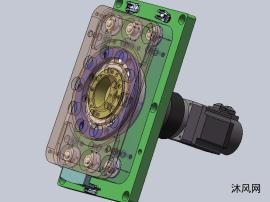 旋转结构耐压力电缸模型