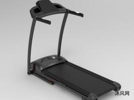 跑步机模型3d