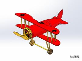 双层机翼滑翔机设计