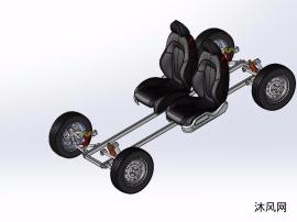 卡丁车车架模型
