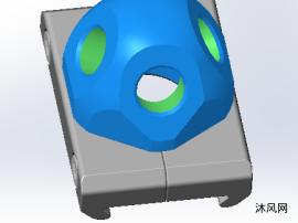 转轴座设计模型
