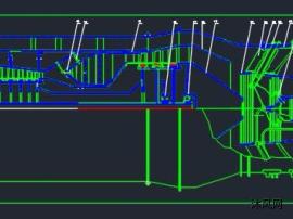 军用涡扇发动机设计图