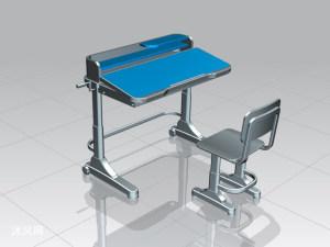 家用可升降课桌椅