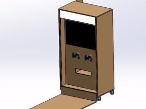 移动式游戏机模型
