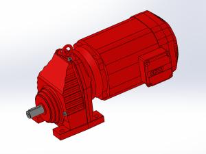 SEW减速电机R系列斜齿轮减速电机