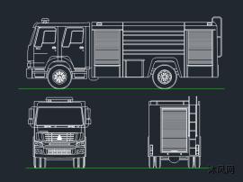 豪沃消防车