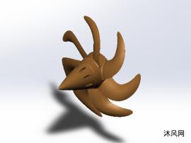 潜艇螺旋桨设计模型