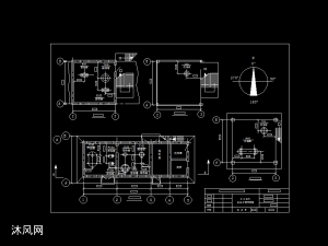 化工车间设备平面布置图