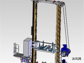 双立柱堆垛机模型