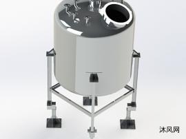 不锈钢水箱模型