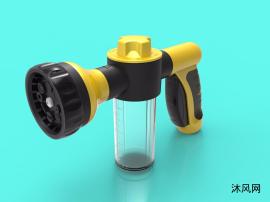 洗车泡沫水枪(全部细节可开模)