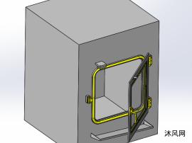 小型烘烤箱设计图