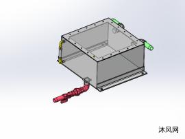 水箱三维设计模型