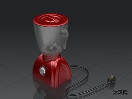 榨汁機建模模型