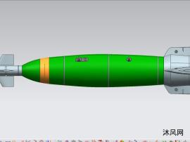 激光制导炸弹模型