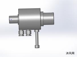 气动旋转控制器(键连接)