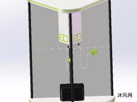 未来充电桩模型