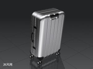 行李箱建模模型