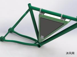 自行车车架模型图设计
