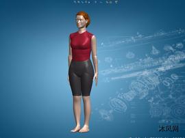 sw女人模型