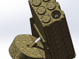 sw火箭炮模型