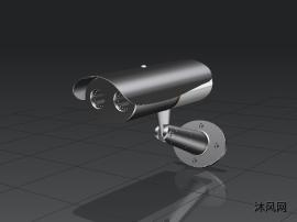 监控摄像头建模模型